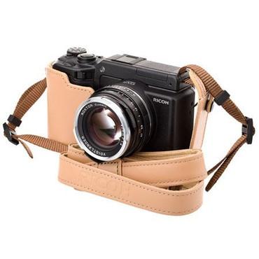 Soft Case F/ GXR A12 Camera (Base Only, Beige)