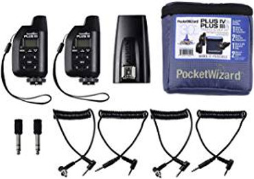 PocketWizard Plus IVe / IIIe 3-Transceiver Kit