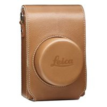 Pre-Owned Leica Leather Camera Jacket Case for D-Lux Typ 109 (Cognac)  18821