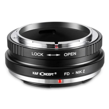 K&F Canon FD Lenses to Canon EOS R RF Mount Camera Adapter (Manual Focus)