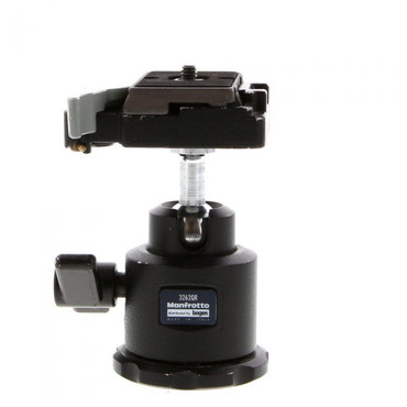 Pre-Owned  Manfrotto 3262 QR  Midi Ball Head with RC2 QR Plate.