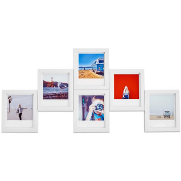 Polaroid magnaframe Polaroid Originals Frames (6-Pack, White)