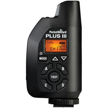 PocketWizard  Plus III Transceiver (Black)