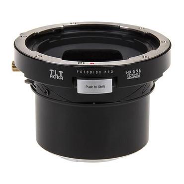 Fotodiox Pro TLT ROKR - Tilt / Shift Lens Mount Adapter for Hasselblad V-Mount SLR Lenses to Sony Alpha E-Mount Mirrorless Camera Body
