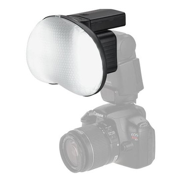 Fotodiox DragonEye Speedlight Diffuser with LED light for Video from Fotodiox Pro