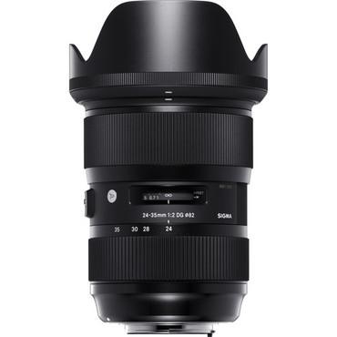 Pre-Owned Sigma 24-35mm f/2 DG HSM Art Lens for Nikon F