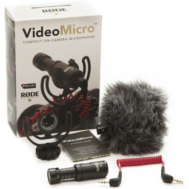Pre-Owned Rode Video Micro Compact On-Camera Microphone