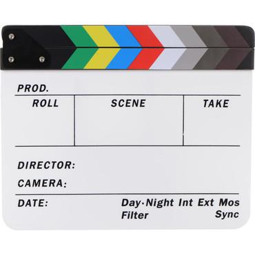 Dot Line Color Clapboard