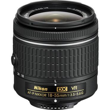 Pre-Owned - Nikon AF-P DX NIKKOR 18-55mm f/3.5-5.6G VR Lens