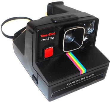 Pre-Owned Polaroid Time Zero OneStep Land Camera (SX70 Film)