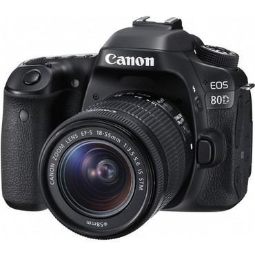 Pre-Owned - Canon EOS 80D DSLR w/ 18-55mm IS II