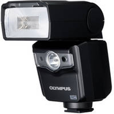 Pre-Owned - Olympus FL-600R Wireless Electronic Flash (Black)