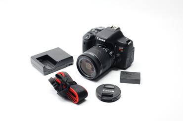 Pre- Owned - Canon EOS Rebel T6i DSLR w/ EF-S 18-55mm f/3.5-5.6 IS ii Lens