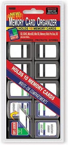 Pioneer Memory Card Organizer
