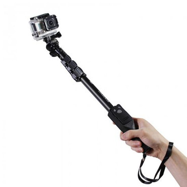 Yunteng YT-1288 Selfie Monopod Extendable Handheld Pole w/ Shutter for iPhone & Android