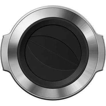Olympus LC-37C Auto Open Lens Cap for M.Zuiko Digital ED 14-42mm f/3.5-5.6 EZ Lens (Silver))