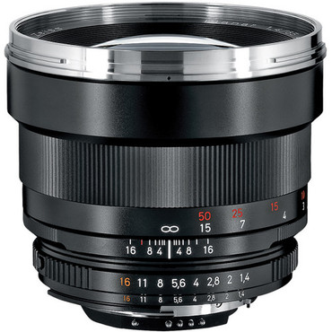 Pre Owned - Zeiss Planar T* 85Mm F/1.4 ZF.2 Lens For Nikon