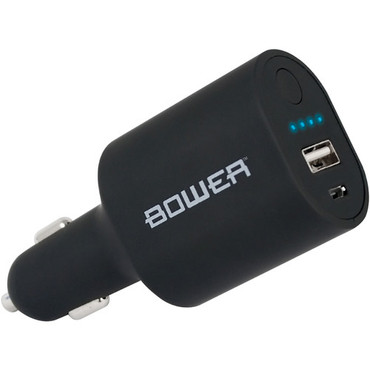 Bower Car Charger and 2200mAh Power Bank