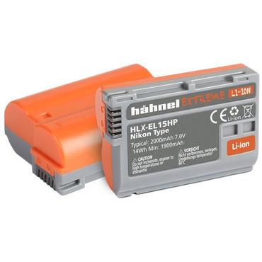 hahnel HLX-EL15 higher power Extreme Lithium-Ion Rechargeable Battery (7V, 2000mAh) EN-EL15
