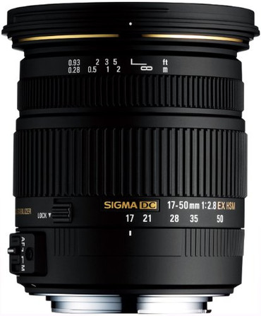 17-50mm f/2.8 EX DC HSM Zoom Lens for Pentax