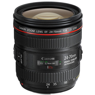 Canon EF 24-70mm f/4L IS USM Standard Zoom Lens (White Box)