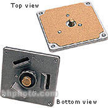 """RC0 Hexagonal Mounting Plate, 4x4"""" Square Plate with 3/8"""" Thread"""