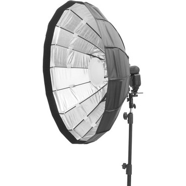"""Pictools Folding Beauty Dish with Grid and Speedlite Bracket 48"""" (47.25"""")"""
