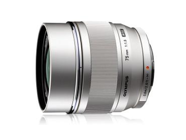 Pre-Owned - Olympus 75mm f/1.8 M.Zuiko Digital ED Lens (Silver)