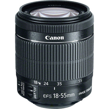 Canon EF-S 18-55Mm F/3.5-5.6 IS STM - WHITE New White Box -