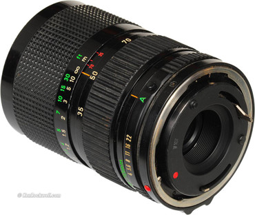 Pre-Owned - Canon 35-70  f/4.0  FD ZOOM