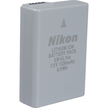 Nikon EN-EL14a Li-Ion Battery
