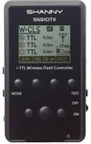 Shanny SN910TX 2.4GHz wireless master flash control for SN910EX-RF