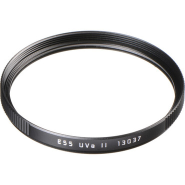 Leica E55 UVa II Filter (Black)