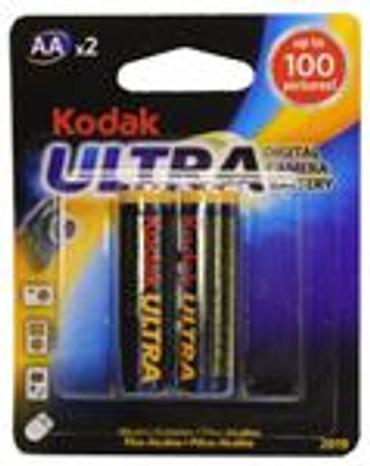 Kodak Ultra Digital Alkaline Battery/KAA-2