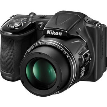 Pre-Owned Nikon COOLPIX L830 16 MP CMOS Digital Camera with 34x Zoom NIKKOR Lens and Full 1080p HD Video (Black)