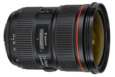 Canon EF 24-70mm f/2.8L USM Ver II S/N: 0310009624 Deposit $1500