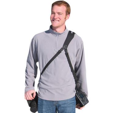 OP/TECH USA UTILITY SLING-DUO BAG BLACK HC