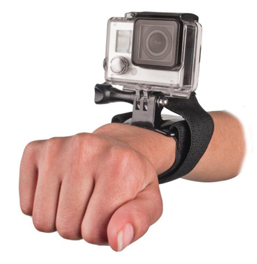 Bower Xtreme Action Series XAS-VWS GoPro Velcro Wrist Strap (Black))