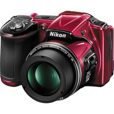 Pre-Owned - Nikon COOLPIX L830  (Red)