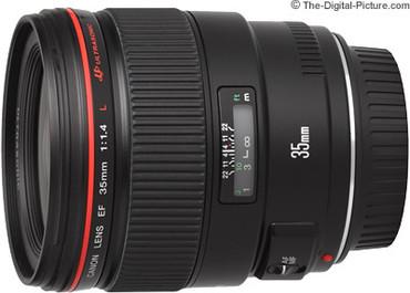 Canon EF 35mm F1.4 L SN:145088 $1500 Deposit