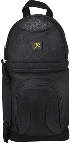 Xit XTBPS Deluxe Digital Camera/Video Sling Style Shoulder Bag (Black)