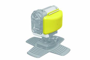 Sony AKAFL1 Floatation Device for Action Camera (White Yellow)