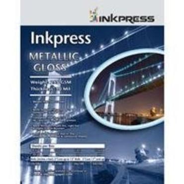 "Inkpress 13""X19"" Metalic Glossy 50Sh 255GSM"