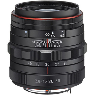 HD Pentax DA 20-40mm f/2.8-4 ED Limited DC WR Lens (Black)