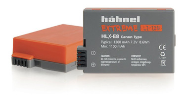 hähnel Extreme Li-Ion LP-E8 Battery for Canon Digital Cameras