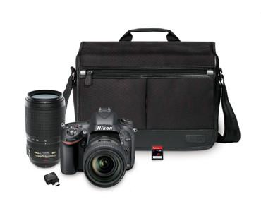 Nikon D610 DSLR Bundle w/ 24-85mm VR & 70-300mm VR AF-S Lenses