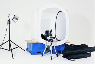 Lastolite Cubelite Kit - Includes: 2' (60cm) Cubelite Shooting Tent, Paterson 500 Wat