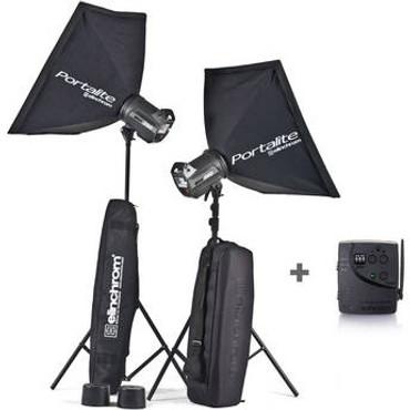 Elinchrom BRX 250/500 2-Light To Go Kit W/ Stands