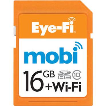 Eye-Fi 16GB SDHC Mobi Wireless Class 10 Memory Card