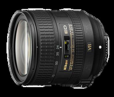 Nikon AF-S FX 24-85mm F/3.5-4.5G ED VR